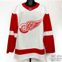 adidas Men's Size 52 Detroit Red Wings NHL Authentic Blank Jersey