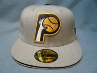 New Era 59fifty Indiana Pacers Heather Slice BRAND NEW Fitted cap hat NBA