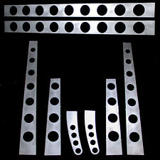 """Model A Ford frame, 3/16"""" boxing plates with easy to weld tabs 28-31, Drilled"""