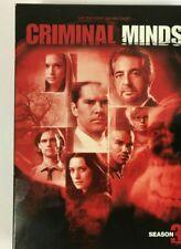 criminal minds the third 3rd season 3 dvd with original box i