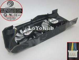 NEW MSI GTX460 GTX560 Extreme V5 Graphics Card Dual Cooling Fan PLD08010S12HH