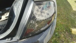 2001 DODGE PLYMOUTH NEON RIGHT LED TAIL LIGHT BLACK SMOKE OEM 2000-2002