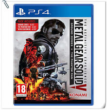 2 IN 1 PS4 Metal Gear Solid V The Definitive Experience KONAMI Action Games