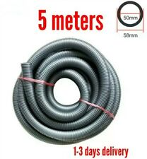 58mm OD 50mm ID Wet And Dry Vacuum Cleaner Hose Pipe Tube 5 meters plastic