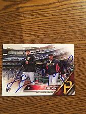 Pittsburgh Pirates Jameson Taillon And Ray Sea rage Autograph Signed Auto Card