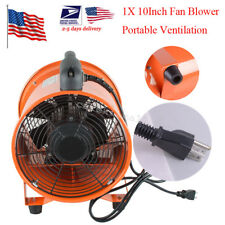 10Inch Fan Blower Gas Paint Garage Auto Shop Home Fan Blow Dust Rubber Feet USA