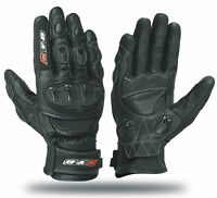KNOX KYB® Motorbike Motorcycle GLOVES Leather SPS Armour Protection Hard Knuckle