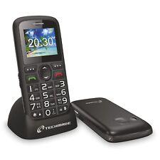 TELEFONO CELLULARE PER ANZIANI NUMERI GRANDI SEMPLICE TASTO SOS FACILE DA USARE