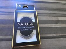 ps natural false eye lashes & glue