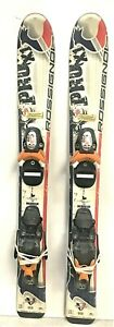 Rossignol Pro X1 Youth Skis w/Comp J Bindings Tuned Waxed 80 or 93cm Kids Junior