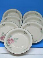 7 Vintage Royal Bayreuth Bavaria China soup bowls  rose pattern germany us zone
