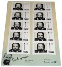 Bud Spencer Briefmarken 10 x 70 Cent Briefmarkenbogen Limited Edition nur 10.000
