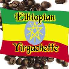 2 lbs Ethiopian Yirgacheffe Washed Grade 1 Medium Roast Coffee Beans Fresh Daily