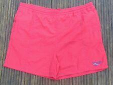 Vintage 90s Reebok Red Festival Swim Shorts Size XL
