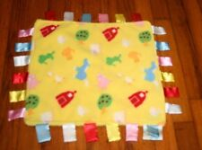 Rare/HTFI  Play ChiChi Blankie yellow farm crinkle security blanket