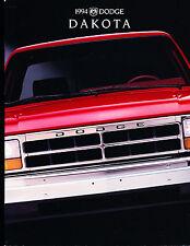 1994 Dodge Dakota Truck 24-page Original Car Sales Brochure Catalog - Pickup