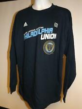 New Philadelphia Union Youth Size XL XLarge Blue Adidas Shirt $18