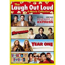 Laugh out Loud 4 Movie Pineapple Express Superbad Year One Youth in Revolt DVD