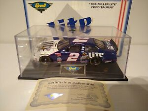 RUSTY WALLACE 1998 MILLER LITE #2 REVELL COLLECTION FORD 1/24, RARE /1,002!