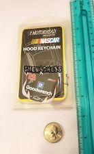 New Motorhead NASCAR Kevin Karvick 29 GM Goodwrench Chevy Hood Keychain Ring