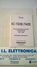 MANUALE IN ITALIANO istruzioni d'uso per ICOM IC-T22E