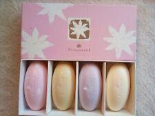 Fragonard Parfumeur Perfumed Soaps Box Set of 4 NEW Tea Rose Lavender Vanilla