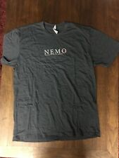 NEMO New Evolution Military Ordinance L Tee Shirt Gray NEW!