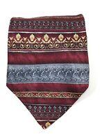 ROUNDTREE & YORKE Men's 100% Silk Neck Tie - MADE IN USA