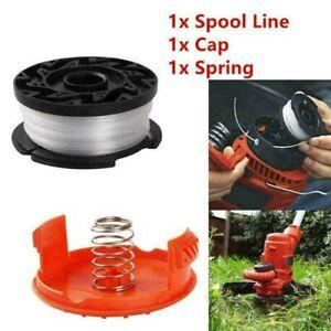 Orange Cover Cap+Spool Line Top For Black & Decker Spare String Trimmer Strimmer