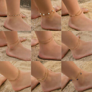 Boho Barefoot Sandal Beach Lots Style Anklet Foot Chain Jewelry Ankle Bracelets
