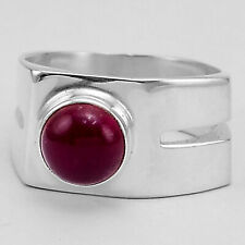 Carnelian 925 Sterling Silver Plated Ring Jewelry s.10 MR01334