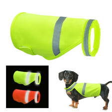 Reflective Pet Puppy Dog Safety Vest High Visibility Harness Hi Vis Viz Jacket
