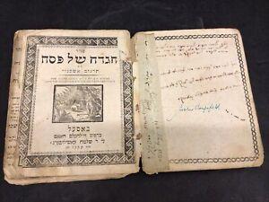 Early 19th Century Jewish Judaica Antique Rabbi Book Old Testament