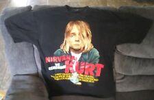 Mis-Printed 1996 Nirvana: We Remember Kurt T-Shirt
