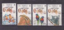 1985 Sc 651/4,set MNH, fauna         h1245