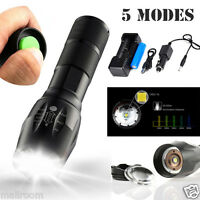 6000LM XM-L T6 LED Zoomable Taschenlampe Wasserdicht Torch Flashlight 18650 Kit
