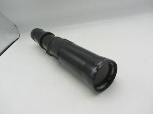 Soligor 450mm F8 T/T2 Minolta MD Mount Lens for SLR / Mirrorless Cameras Pre-Set