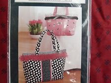 Indygo Junction IJ712 Pretty Snappy Kathy Fernholz Pocketbook Bag Sewing Pattern