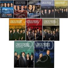 LAW and ORDER CRIMINAL INTENT Season 1-10 Complete Series Brand New Sealed USA