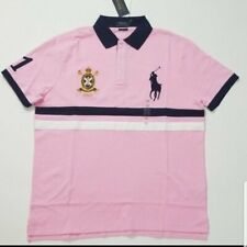 ***2XB***Polo Ralph Lauren Mens Big Pony Classic Big & Tall Crest Polo Rugby