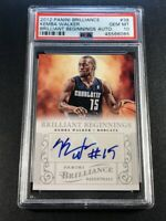 KEMBA WALKER 2012 PANINI BRILLIANCE BRILLIANT BEGINNINGS AUTO ROOKIE RC PSA 10