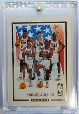 Rare 1992 92 Michael Jordan Skybox USA Basketball Barcelona Dream Team Gold #NNO