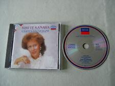 CANTELOUBE Chants d'Auvergne Vol. 1 Kiri Te Kanawa CD W Germany PDO solid silver