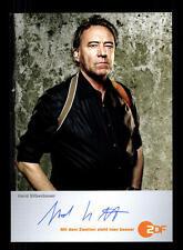 Gerd Silberbauer ZDF Autogrammkarte Original Signiert # BC 66128