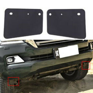2x For Toyota Land Cruiser LC200 2008-2021 Front Bumper Lower Wheel Guard Mud