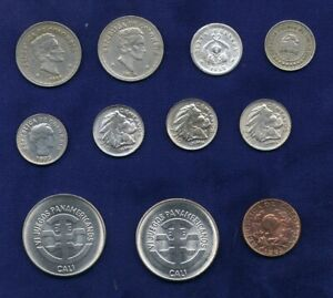 COLOMBIA  19TH & 20TH CENTURY COINS, SMALL COLLECTION, CENTAVOS, PESOS, REAL,..