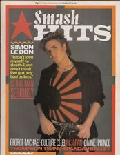 Smash Hits August Music, Dance & Theatre Magazines