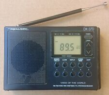 Realistic Radio Shack DX-370 Portable Digital AM-FM Stereo-Shortwave Receiver