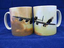 LANCASTER BOMBER WWII  VINTAGE AIRPLANE AIRCRAFT MUG