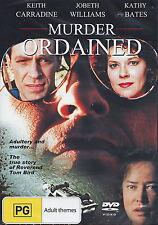 Murder Ordained - Drama / Thriller / True Story - NEW DVD